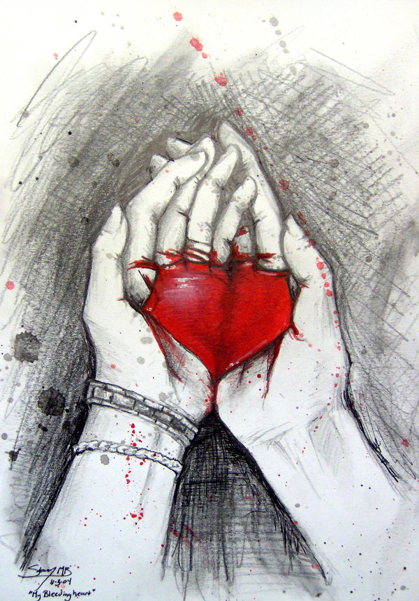 Bleeding Heart She Heals